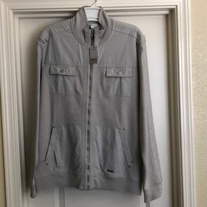 Calvin Klein modern casual full zip jacket